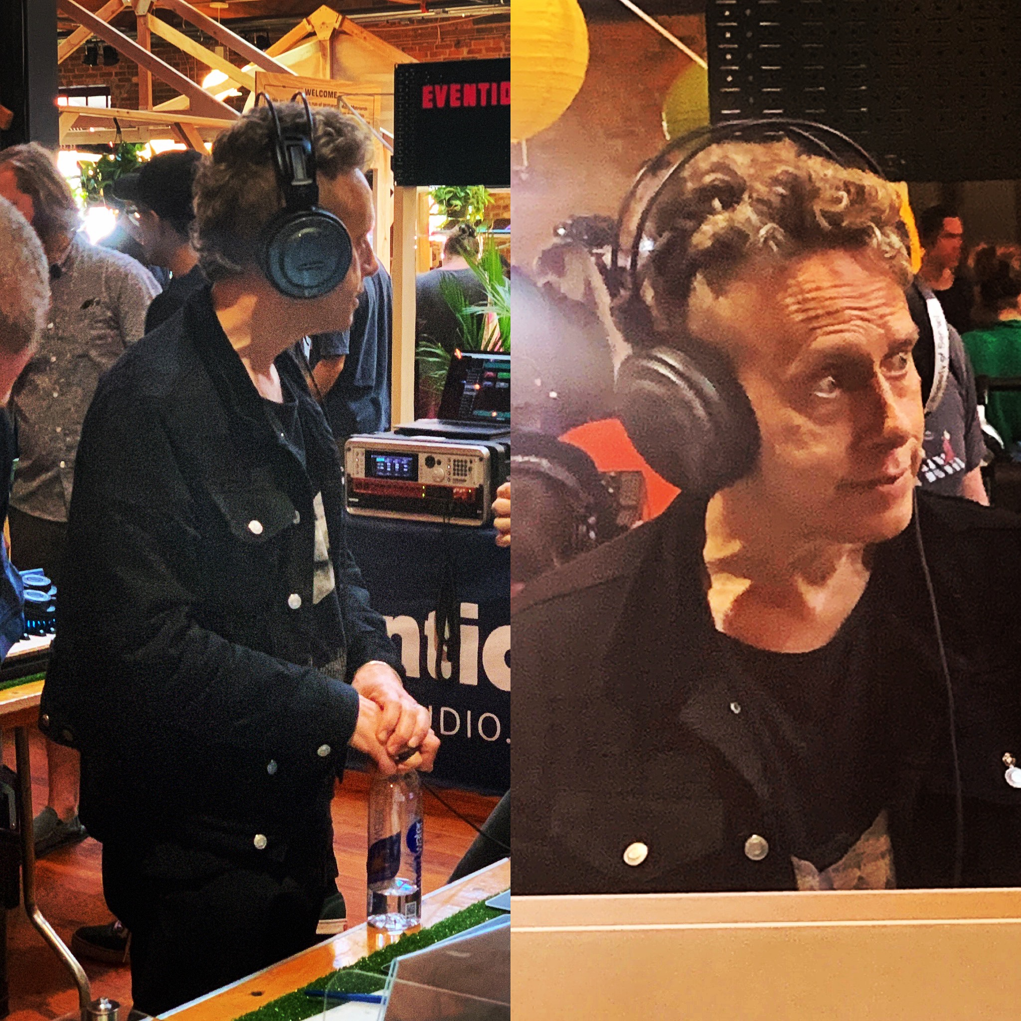 Martin Gore was at Moogfest 2019, too!
